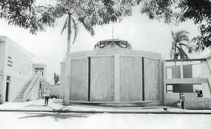Current Sanctuary Under Construction, 1963