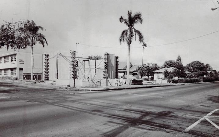 Current Sanctuary Under Construction in 1963