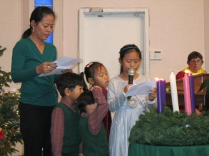 Advent, 3rd Sunday @ Sanctuary