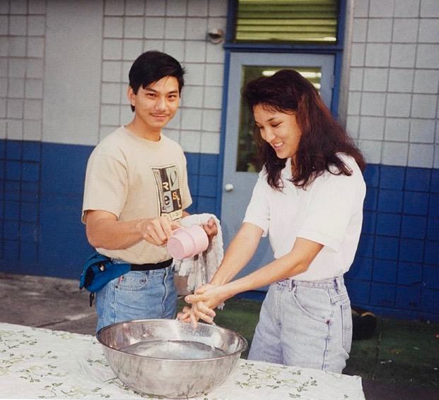 Rodney and Mikki Wong, Rodney was the Youth Minister/Associate Pastor from October 1989 – December 1997.