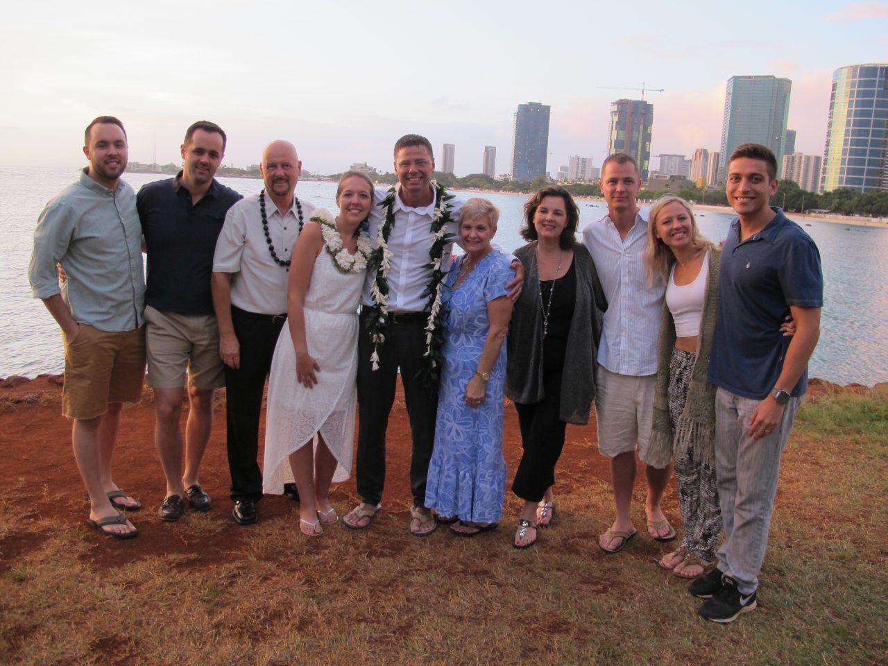 Pastor Barry's sister, Zanette and nephews, David & Joe