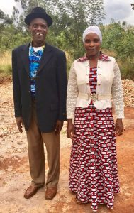 Pastor and wife