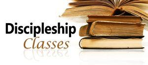 301 DISCIPLESHIP CLASS @ Room 201