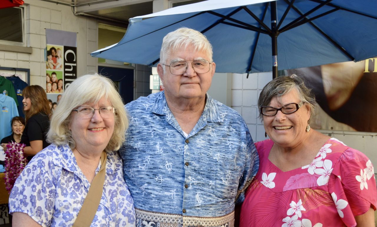 George & Shelley Turner came from California and Linda Groth from Texas